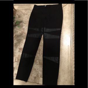 Vince Camuto Black Stretch Pants NEW!
